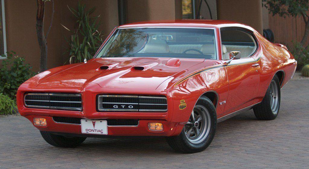 Фото 1969 Pontiac GTO Judge