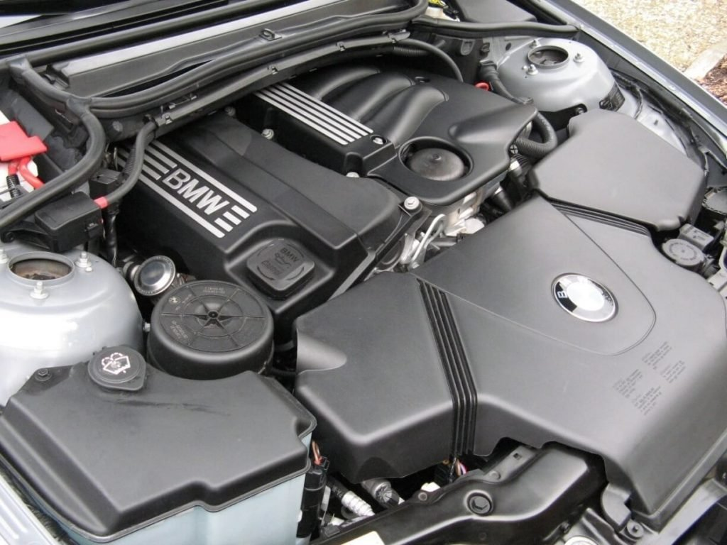 Фото двигателя BMW-N46
