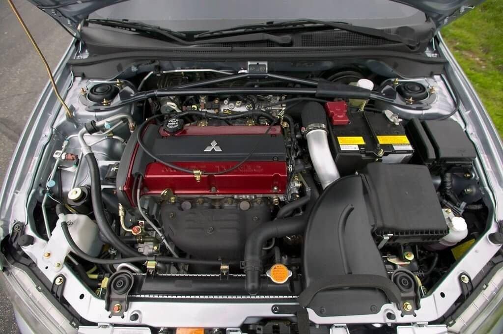 Фото двигатель Mitsubishi Lancer VIII