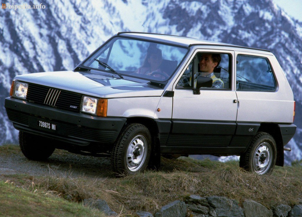 Фото Fiat Panda 1992 года.
