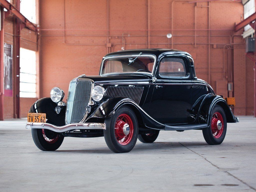 Фото Ford V8 Coupe