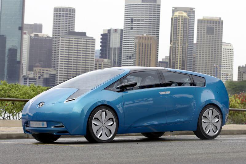 Фото Toyota Hybrid X Concept