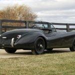 Фото сзади Jaguar XK120