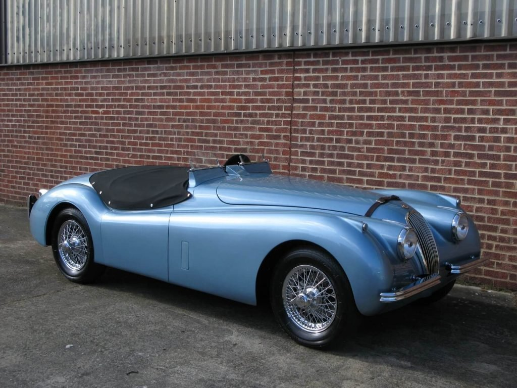 Фото Jaguar XK120 Drop Head Coupe