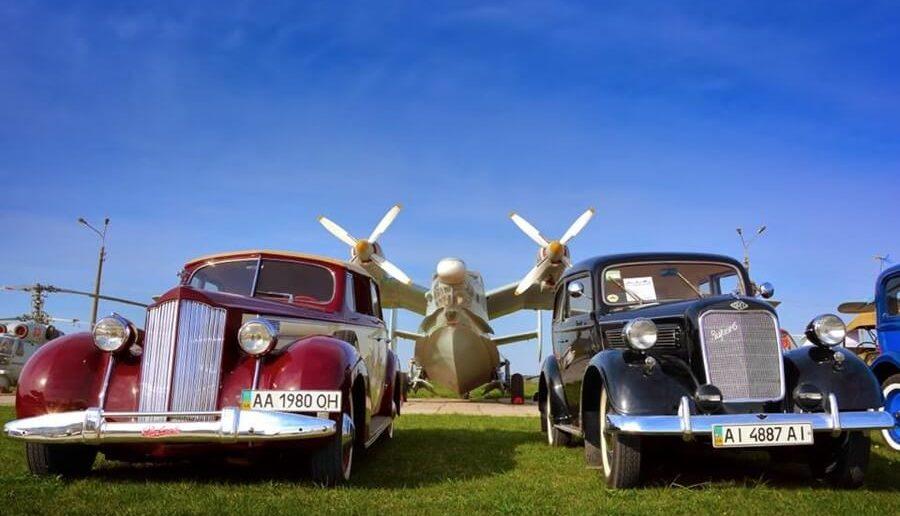 "Настоящие музейные экспонаты на ""Old Car Land"""