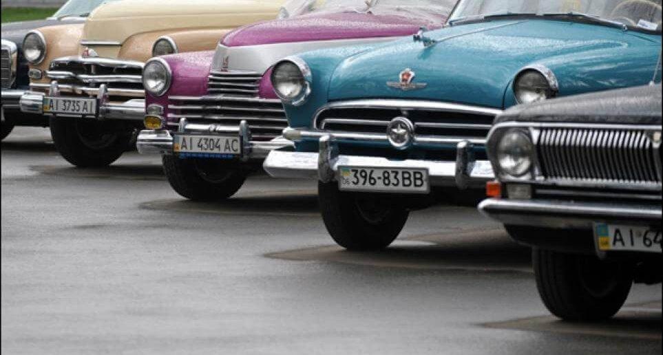 Дефиле советского автопрома