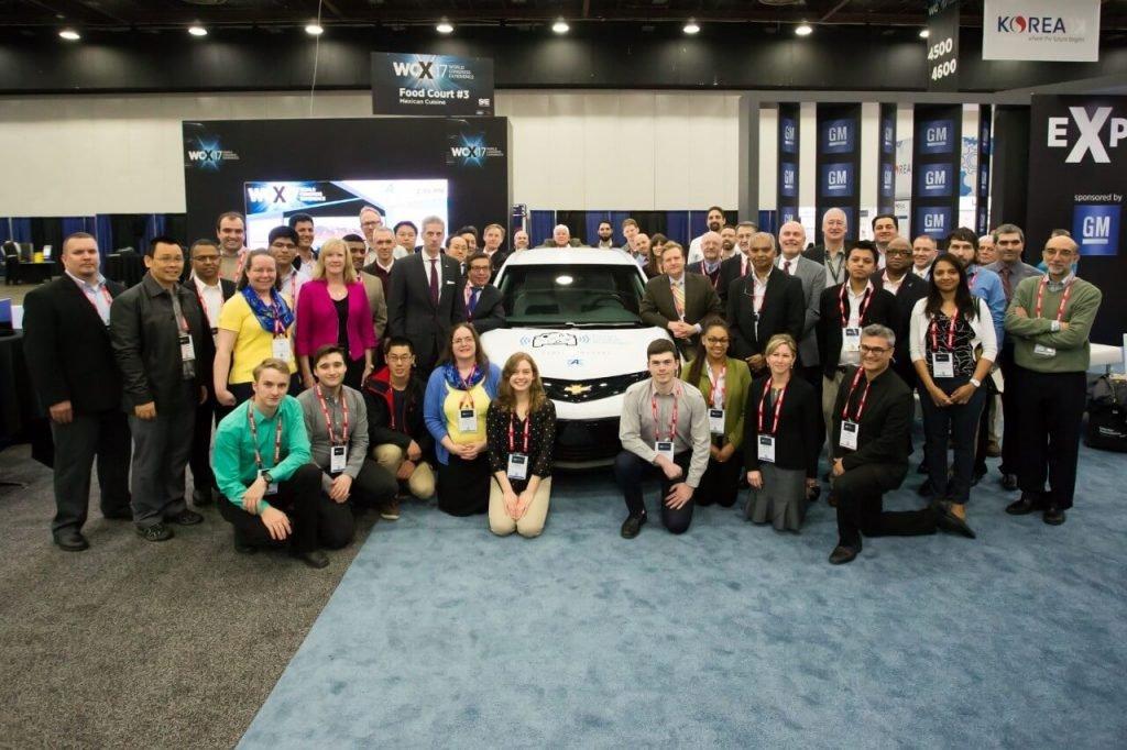 Участники GM AutoDrive Challenge