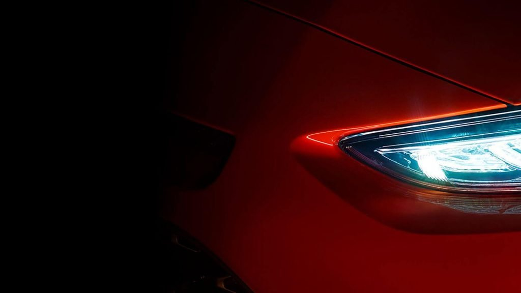 Фото-тизер кроссовера Hyundai Kona