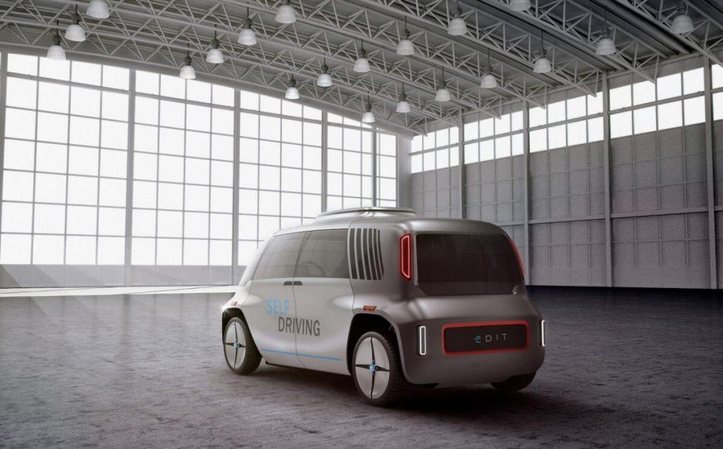 Прототип беспилотного транспорта от OSVehicle