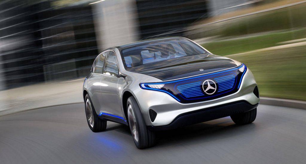 На фото: концепт-версия Mercedes-Benz EQ A