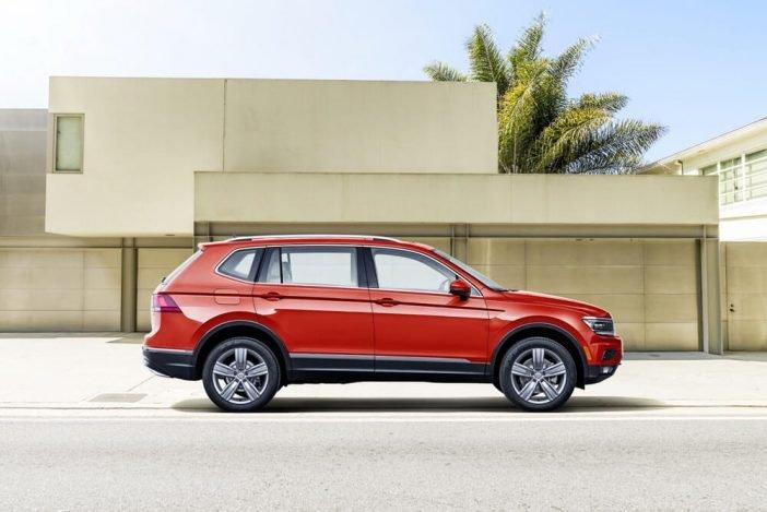 У Volkswagen Tiguan 2018 значительно увеличили габариты