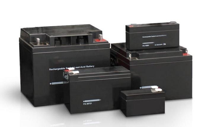 На фото: Гелевые аккумуляторы