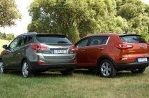 Что лучше Hyundai ix35 или Kia Sportage?