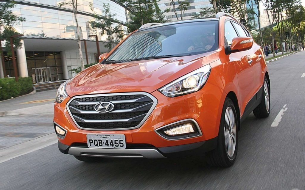 На фото: Hyundai ix35