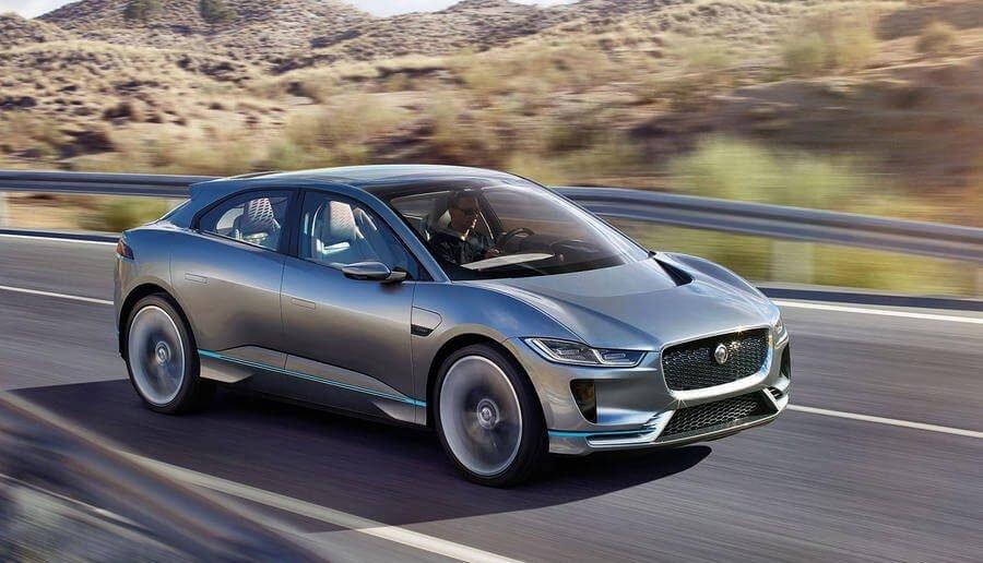 Концепт нового электрокара Jaguar I-Pace