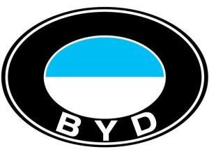Напоминающий немецкий BMW логотип компании BYD