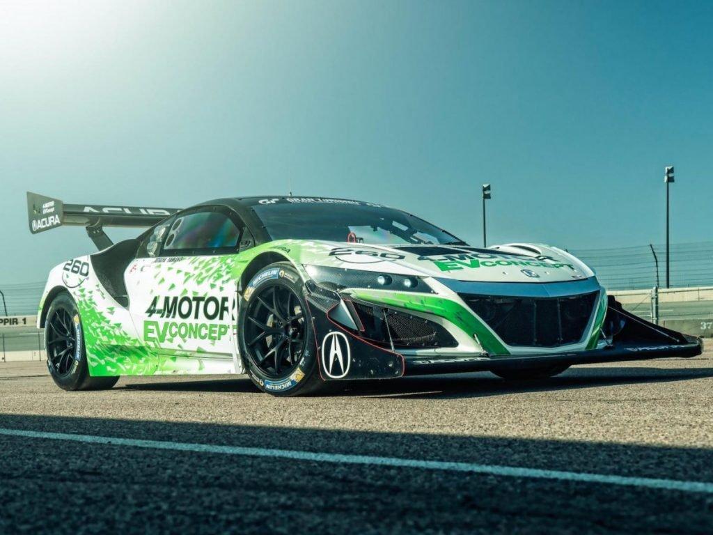 Acura SH-AWD EV занял 3-е место на Пайкс Пик