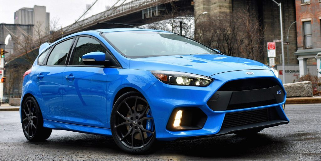 На фото Ford Focus RS Limited Edition