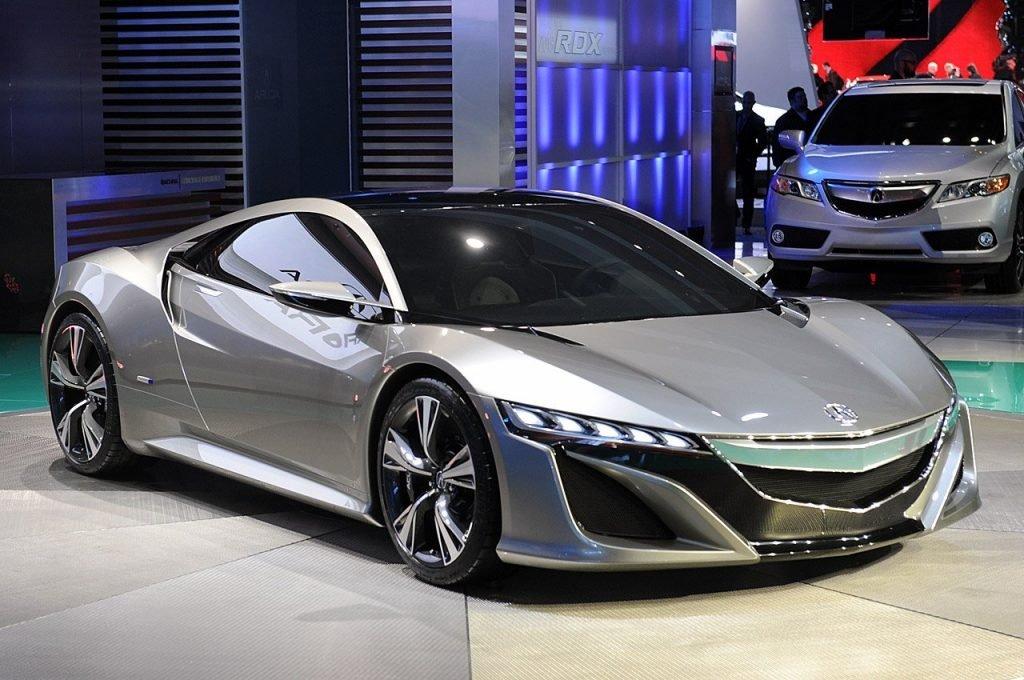 Фото Honda/Acura NSX нынешнего поколения