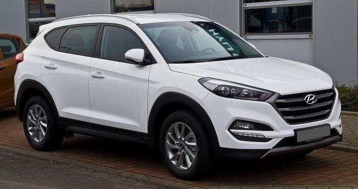 Некоторые элементы повторяют внешности Hyundai Tucson