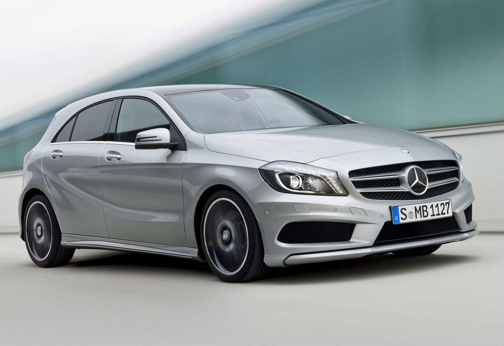 Обновленная версия 3-его поколения Mercedes-Benz A-class