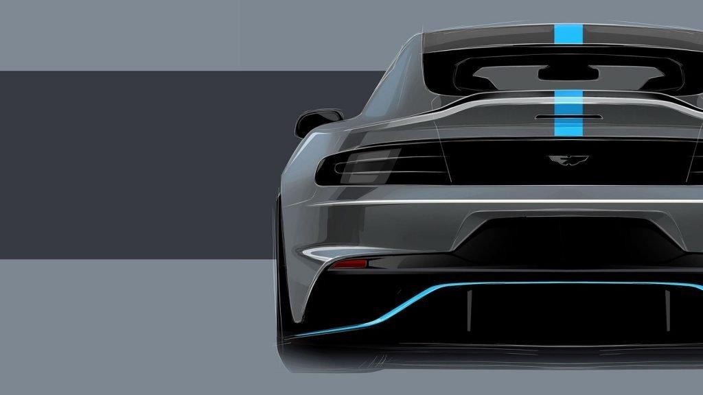 На фото концепт электрифицированного Aston Martin RapidE, который планируют запустить в 2019 году.
