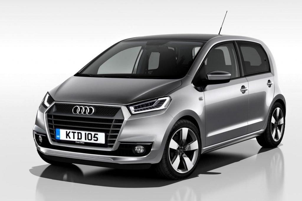 Концепт финальной версии Audi A0 (2015)