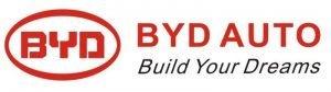 Оригинальный слоган BYD и логотип компании