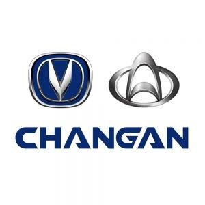 Логотипы автомобильного концерна Changan (новый и старый)