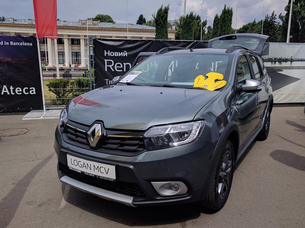 Обновленный Renault Logan MCV Stepway украинские зрители могли увидеть первыми в Европе.