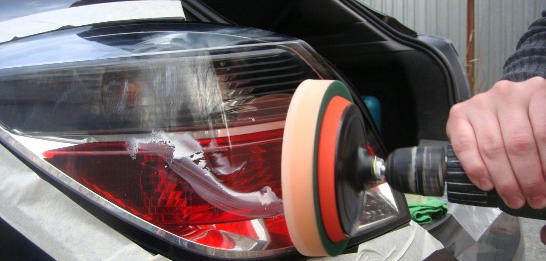 Полировка фар на автомобиле своими руками 800