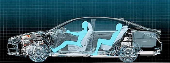 В приоритете комфорт и удобство водителя, а не пассажира находящегося за ним.