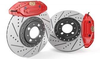 Слотированные и вентилируемые(перфорированные) тормозные диски.