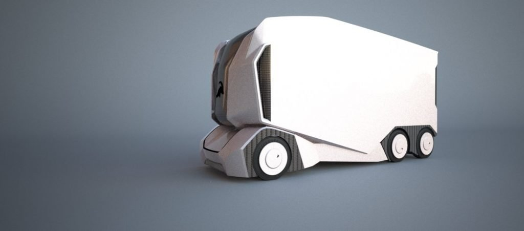 Всё что потребуется потенциальному владельцу T-pod - это заданный маршрут и панель управления в виде планшета, с помощью которого можно будет мониторить самую важную информацию касательно перевозки (заряд батарей, геолокацию грузовика, темп и т.д.).