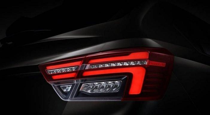 На смену галогенным моделям в линейке кроссов, у Geely S1 будет полная светодиодная система как спереди, так и сзади автомобиля.