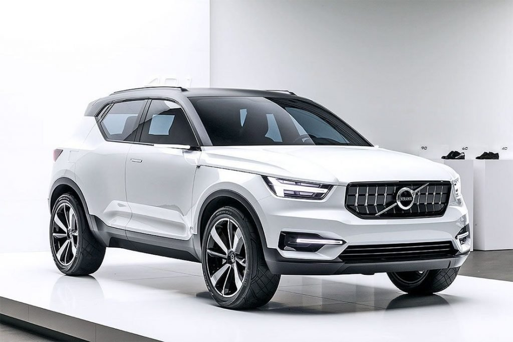 Вышеназванная концепт-модель Volvo 40.1. Согласно слухам людей, которые напрямую связанные с разработкой автомобиля, схожий дизайн будет иметь модель Volvo XC40 2018.