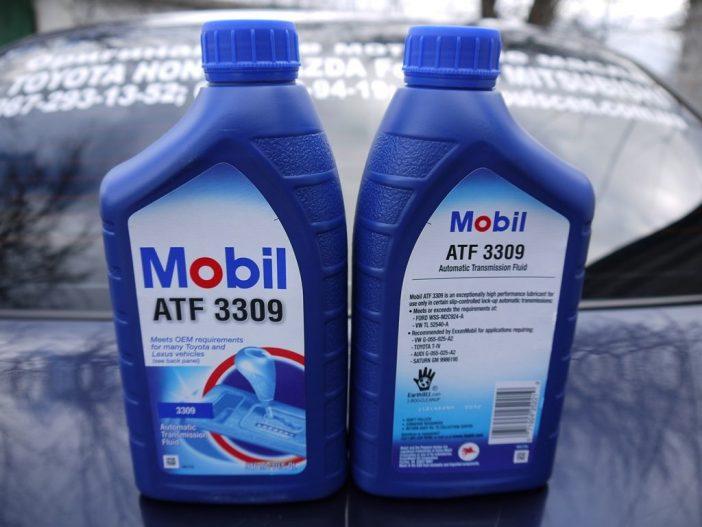 Обращайте особое внимание на упаковку приобретаемой жидкости ATF. Учитывайте тип масла, а также спецификацию, которая подходит вашей коробки передач.