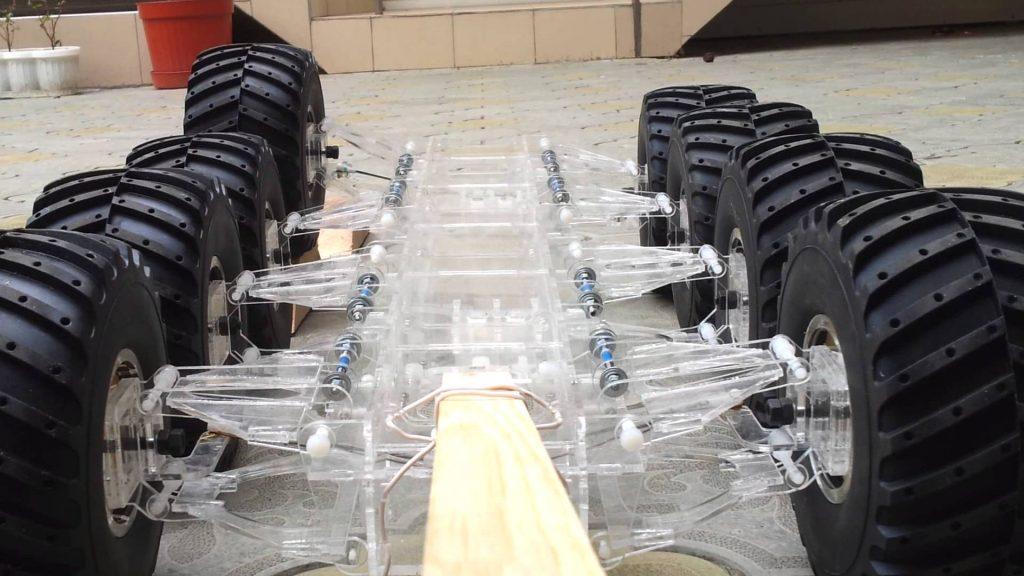 Электромагнитная подвеска автомобиля