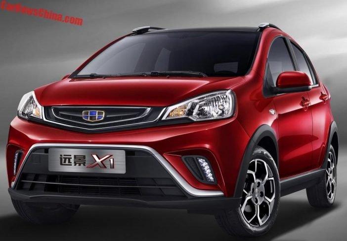 Geely Yuanjing X3 будет эксклюзивной моделью для внутреннего китайского рынка. Старт продаж бюджетного кроссовера запланирован на конец лета 2017 года.