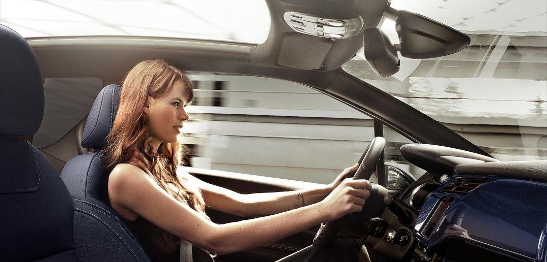 Правильная посадка водителя за рулем автомобиля
