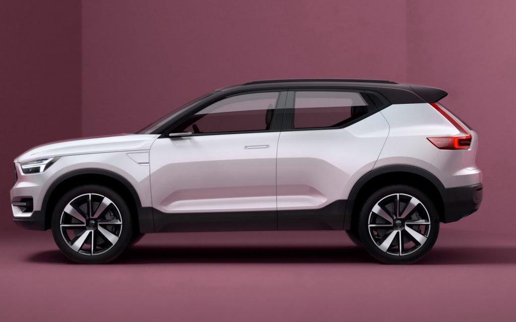 """Первые опубликованные изображения-рендеры начали выходить еще в начале года. Долгое время, подобный дизайн позиционировался шведской компанией как """"Project Volvo 40.2""""."""