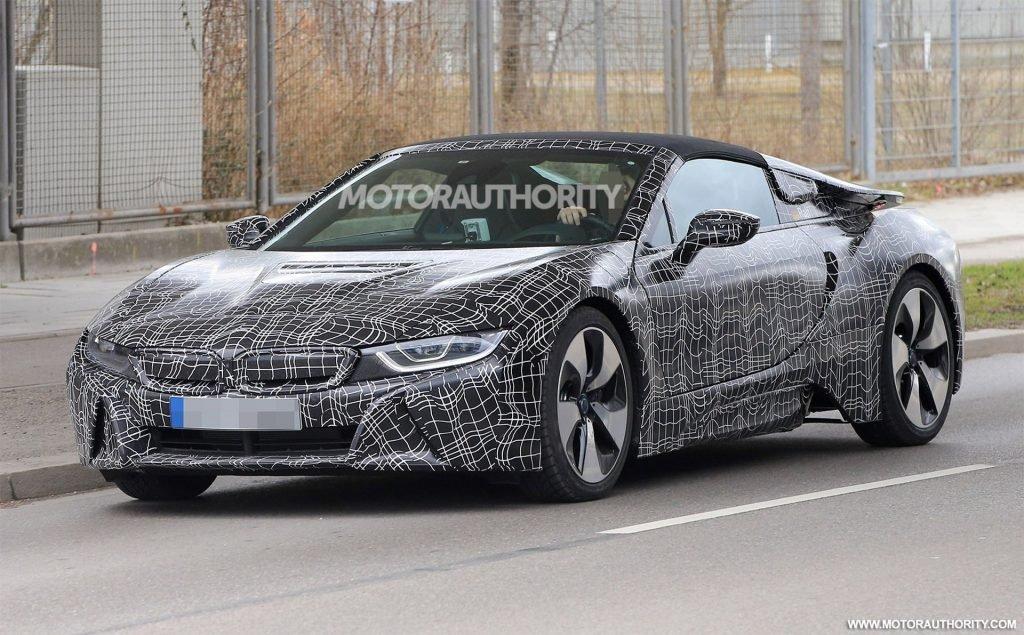 В начале лета на под прицел фотокамер попала новая спортивная модель от BMW. Вся пресса начала прогнозировать, что скорее всего на фото представлено след. поколение модели BMW i8, однако вполне возможно что на тестах была замечен новый родстер бренда.