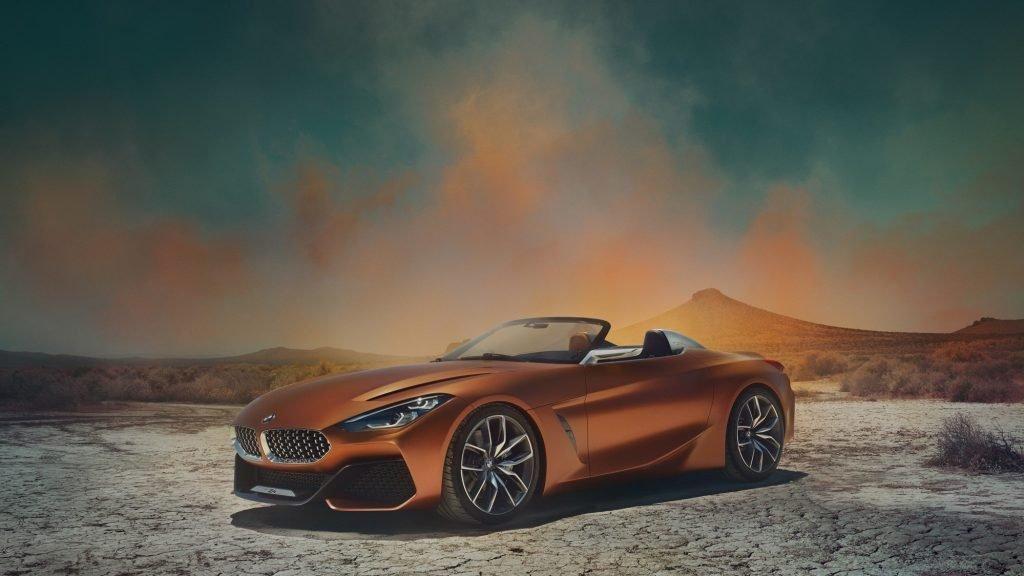 Официальная презентация родстера BMW Z4 Concept прошла за закрытыми дверьми на западном побережье США, штат Калифорния.