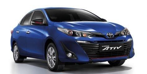 Стартовали продажи бюджетной модели Toyota Yaris Ativ