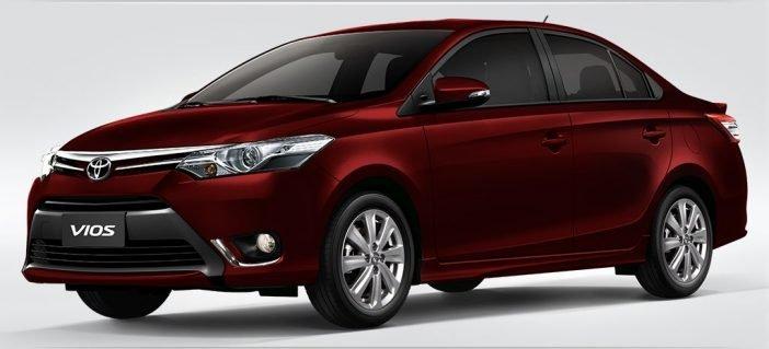 Бюджетный седан Toyota Vios (который является двойником оригинального Yaris, который в свою очередь идейный наследник Camry) продается только в Южной Азии, Южной Америке и в ряде африканских стран с 2015 года.