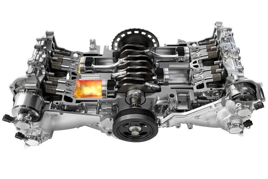 Что такое оппозитный двигатель? Принцип работы, плюсы и минусы двигателя