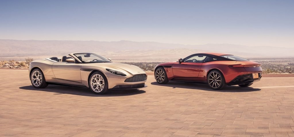Прекрасен, как мир вокруг – новый кабриолет Aston Martin DB11 Volante 2018