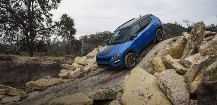 На фото новый Jeep Compass