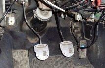 Вибрация двигателя в педали газа. Симптомы и причины неисправности