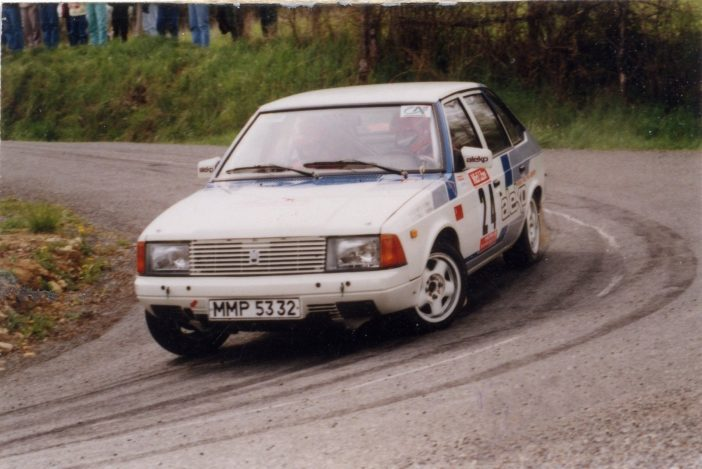 Раллийная версия Москвич-2141